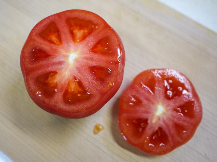トマトのミートソース詰め焼き5-2