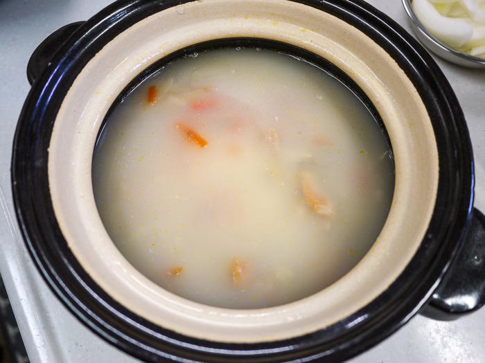 市販の釜飯の素も出汁でタクト美味しい6-2