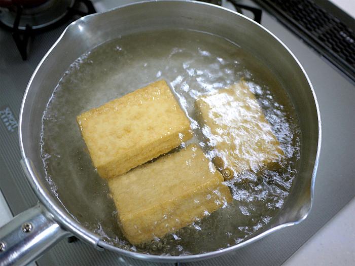 s厚揚げの明太マヨチーズ焼き3