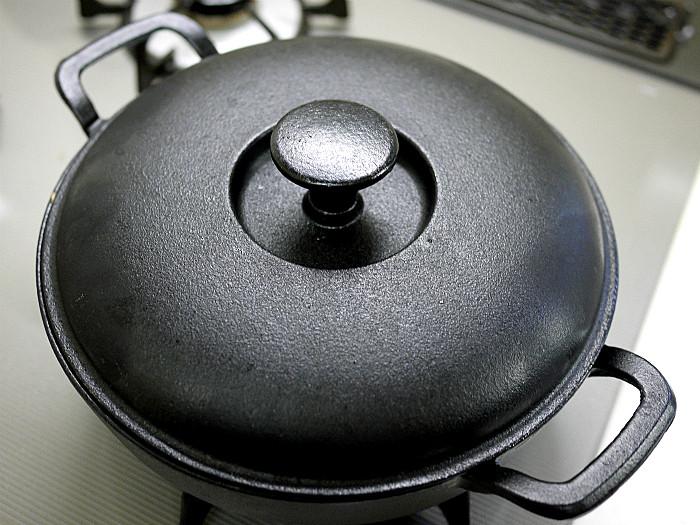 sスキレットで鶏肉のすき煮6