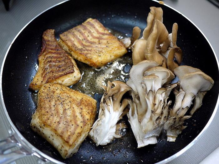 鯛のバルサミコソテー7