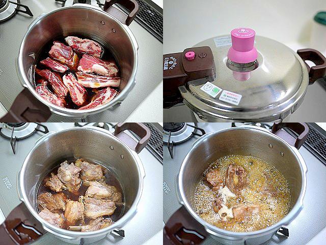 s-圧力鍋でスペアリブの黒酢煮5