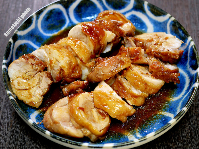 s鶏もも肉の味噌チャーシュー1