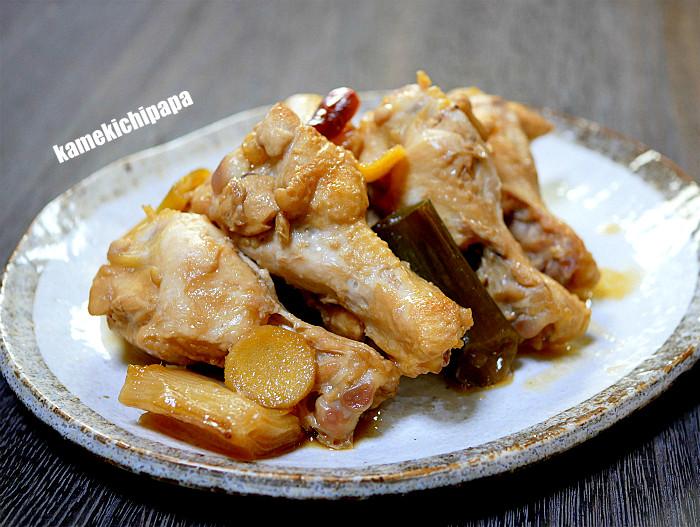 s鶏手羽元とのポン酢煮1