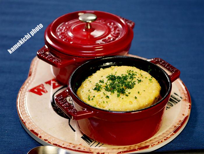 s朝食にピッタリなチーズスフレオムレツ 1