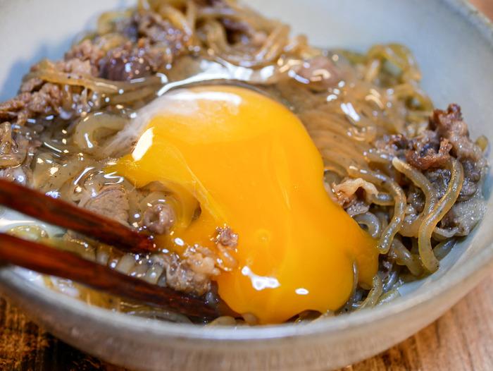 糸こんのすき炒め煮(牛肉入り)15