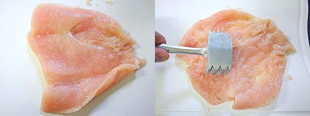 s-鶏むね肉の薄々チーズ焼き4