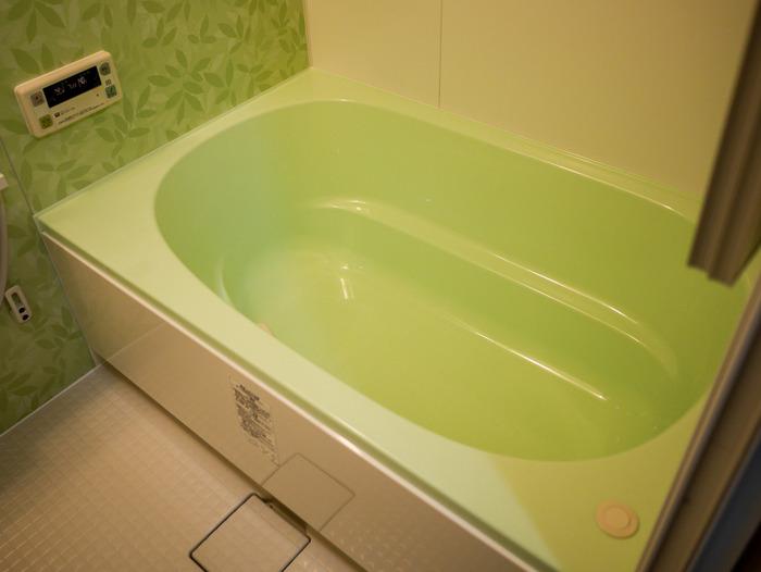 「風呂リフォーム2日目終了」8
