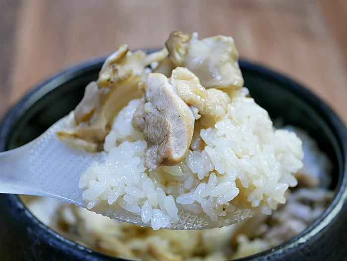 sまん丸ご飯鍋で鳥釜飯3