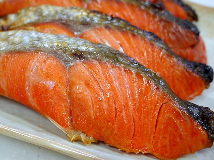 美味しい紅鮭4