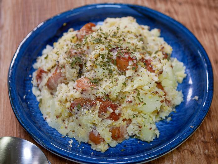 ウインナーポテトサラダ1-2