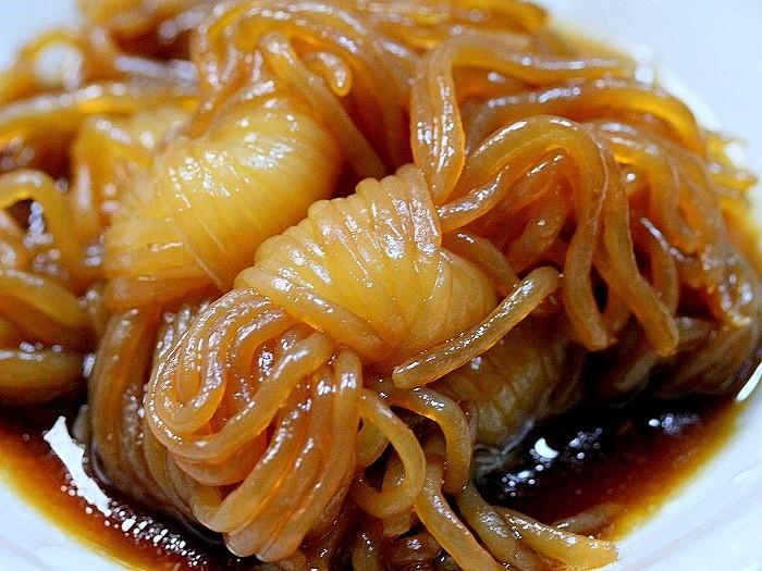 s-チャーシューの残り汁で2品糸コン煮2