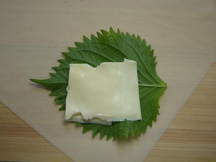 梅しそささ身チーズ春巻き7