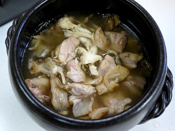 sまん丸ご飯鍋で鳥釜飯6
