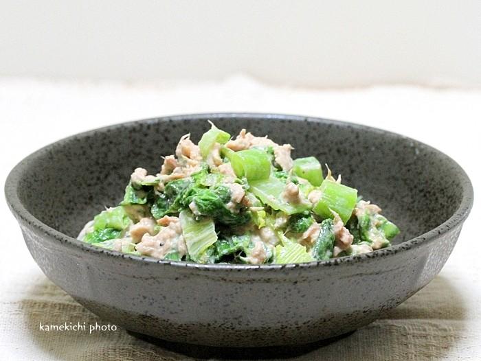 s-高菜のツナマヨ和え1