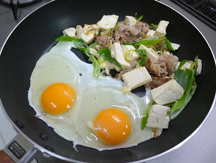 s豆腐と豚肉の塩ネギチャンプル7