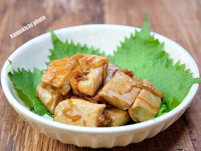 s-マグロの生姜焼き1