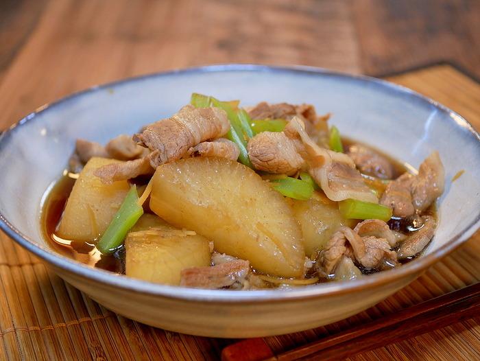 豚バラ肉と大根のめちゃうま煮2