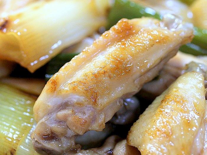 s-手羽中と白葱の炒め煮2