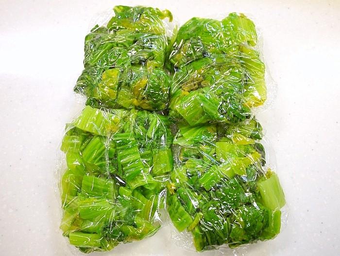 s-高菜の冷凍保存4