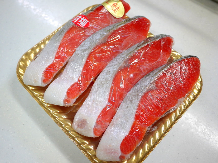 美味しい紅鮭1