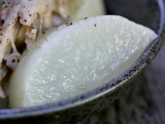 s圧力鍋で大根と手羽先のスープ煮2