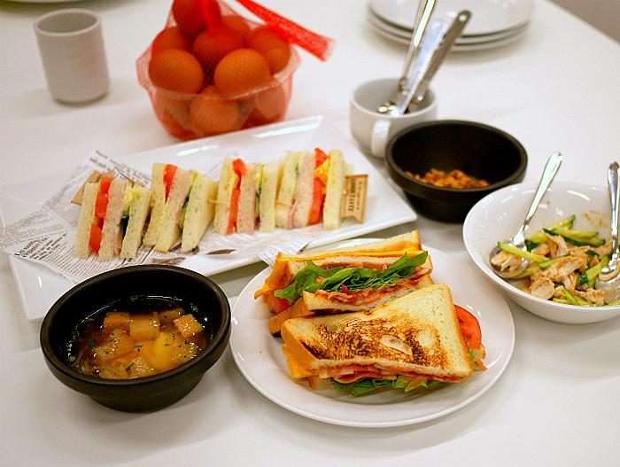 sサンドイッチ料理教室6
