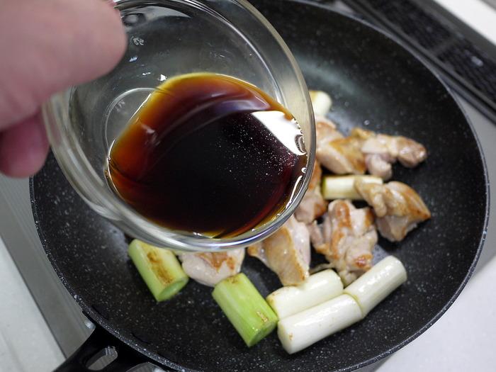 鶏もも肉の焼き鳥炒め7