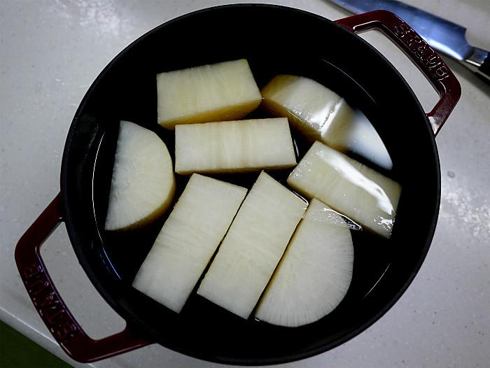 s大根と牛肉の白だし煮5