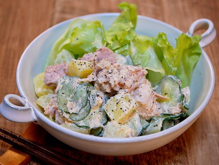 ツナマヨポテトサラダ2