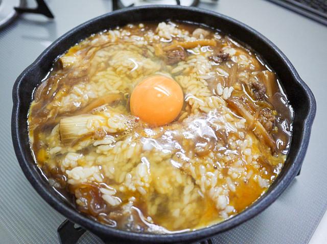 すき焼き 雑炊