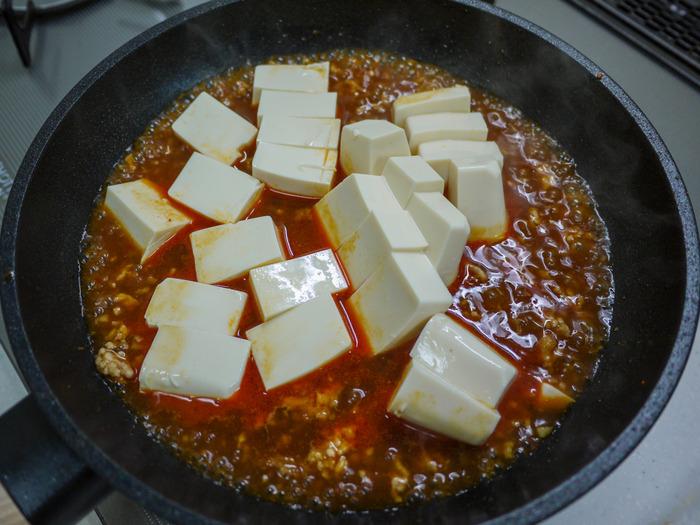 攻めた麻婆チーズ豆腐11