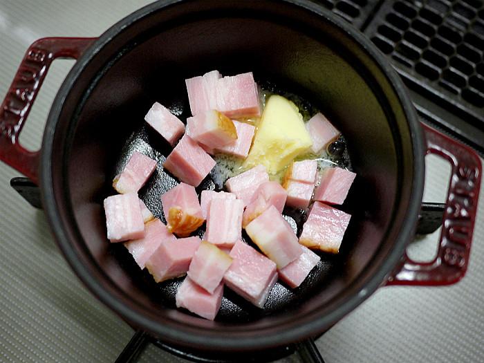 s朝食にピッタリなチーズスフレオムレツ5