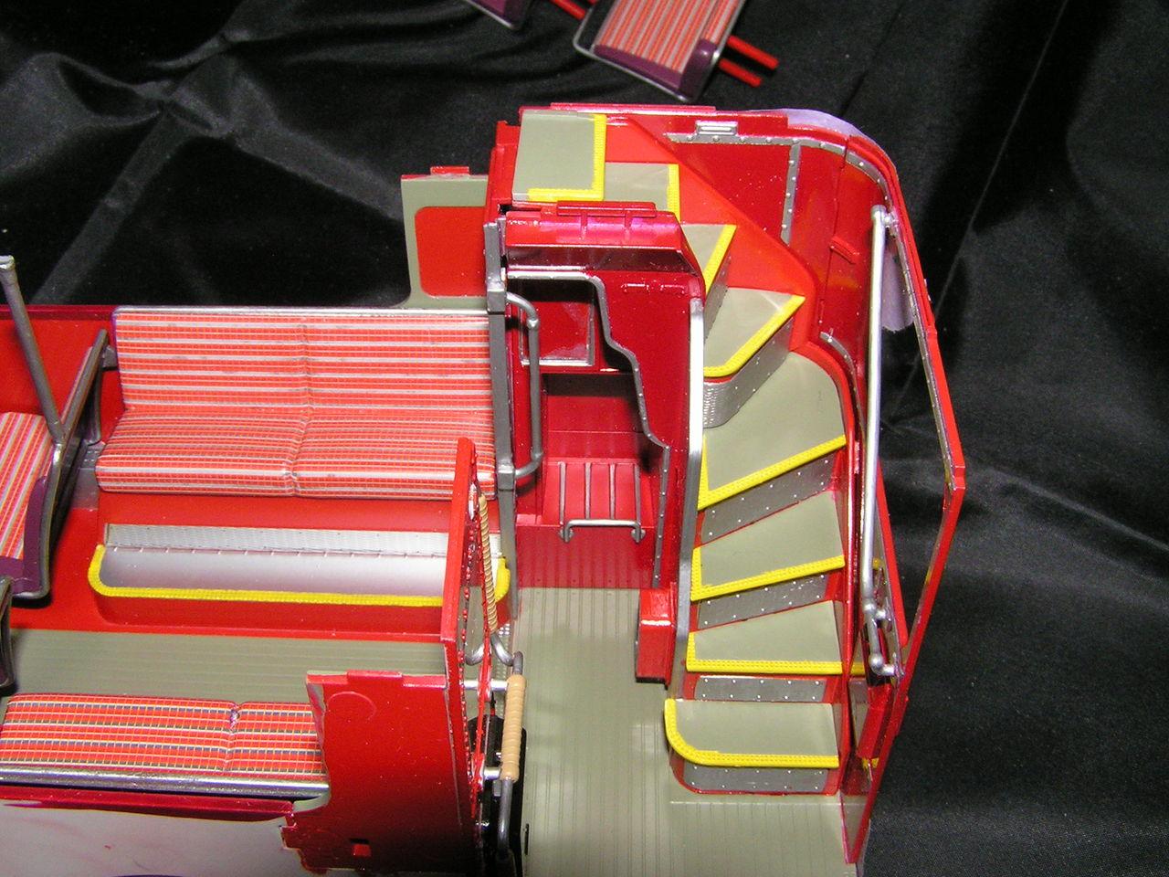安西一雄・SFレプリカコレクション・プラスチックモデルアート  ReveII 1/24ロンドンバス プラモデル 完成コメント