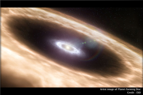 Planet-forming-disc