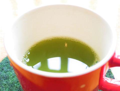 コーヒーから緑茶へカップ