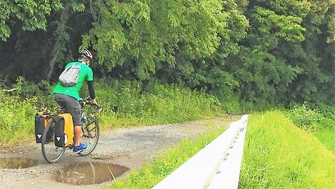 張さんが和歌山サイクリング