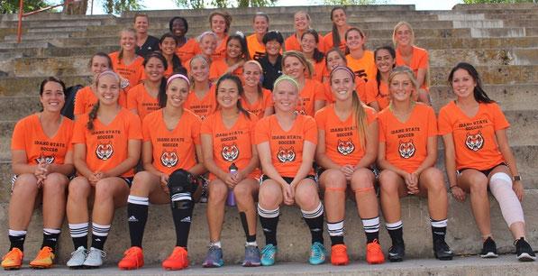 アメリカ女子サッカー留学-アイダホ州立大学-スポーツ奨学金