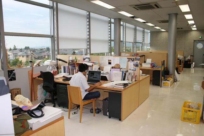大学院棟研究室