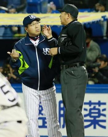 【燕激怒】 真中監督、阪神のマナー違反指摘
