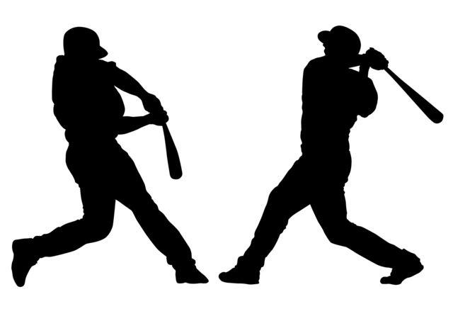 野球シルエット