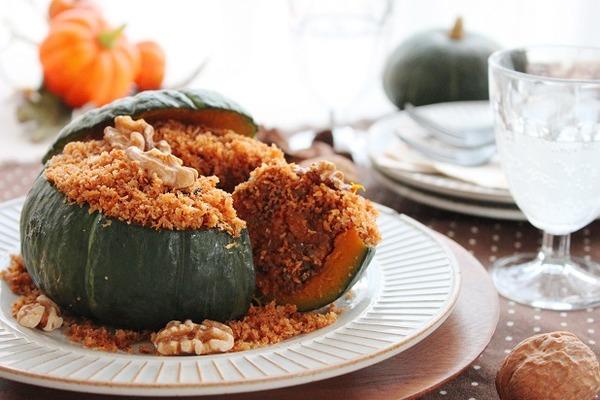 ブログまるごとかぼちゃの揚げないコロッケ(横)