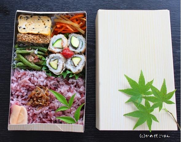 ブログお弁当ふたつ
