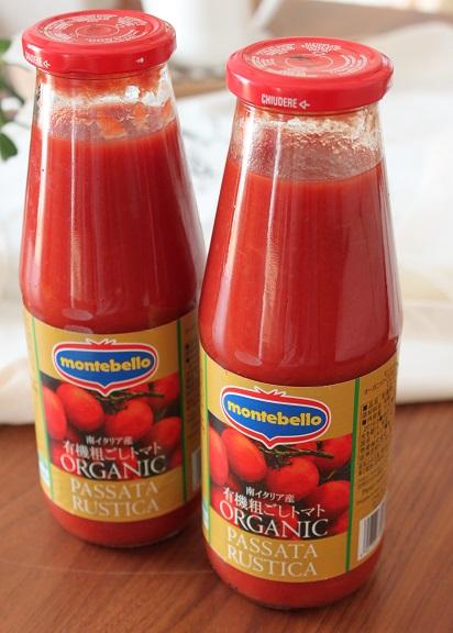 有機粗ごしトマト