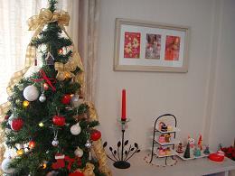 クリスマスの部屋