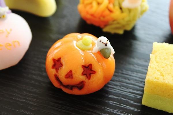 ハロウィン&秋の和菓子パンプキン