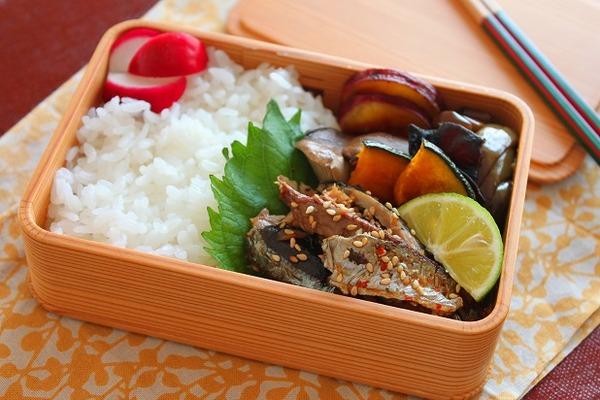 秋刀魚弁当