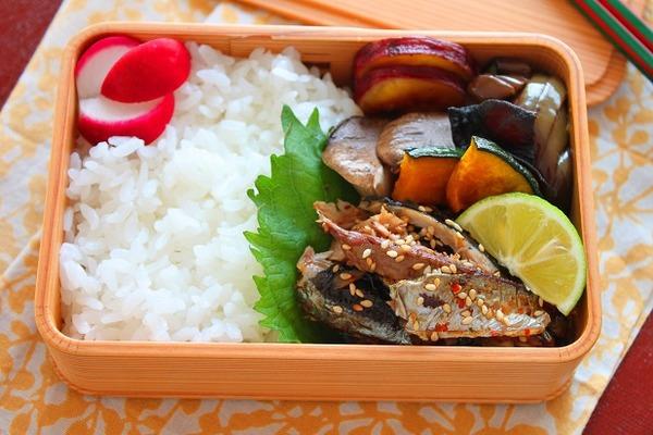 秋刀魚弁当2