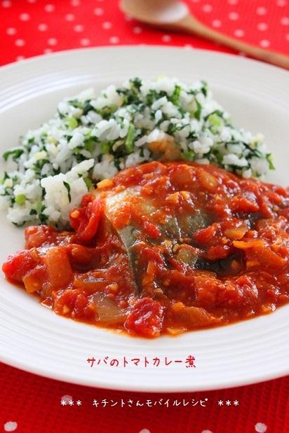 サバのトマトカレー煮ブログ