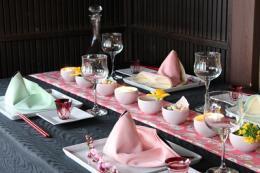 大人の雛テーブル